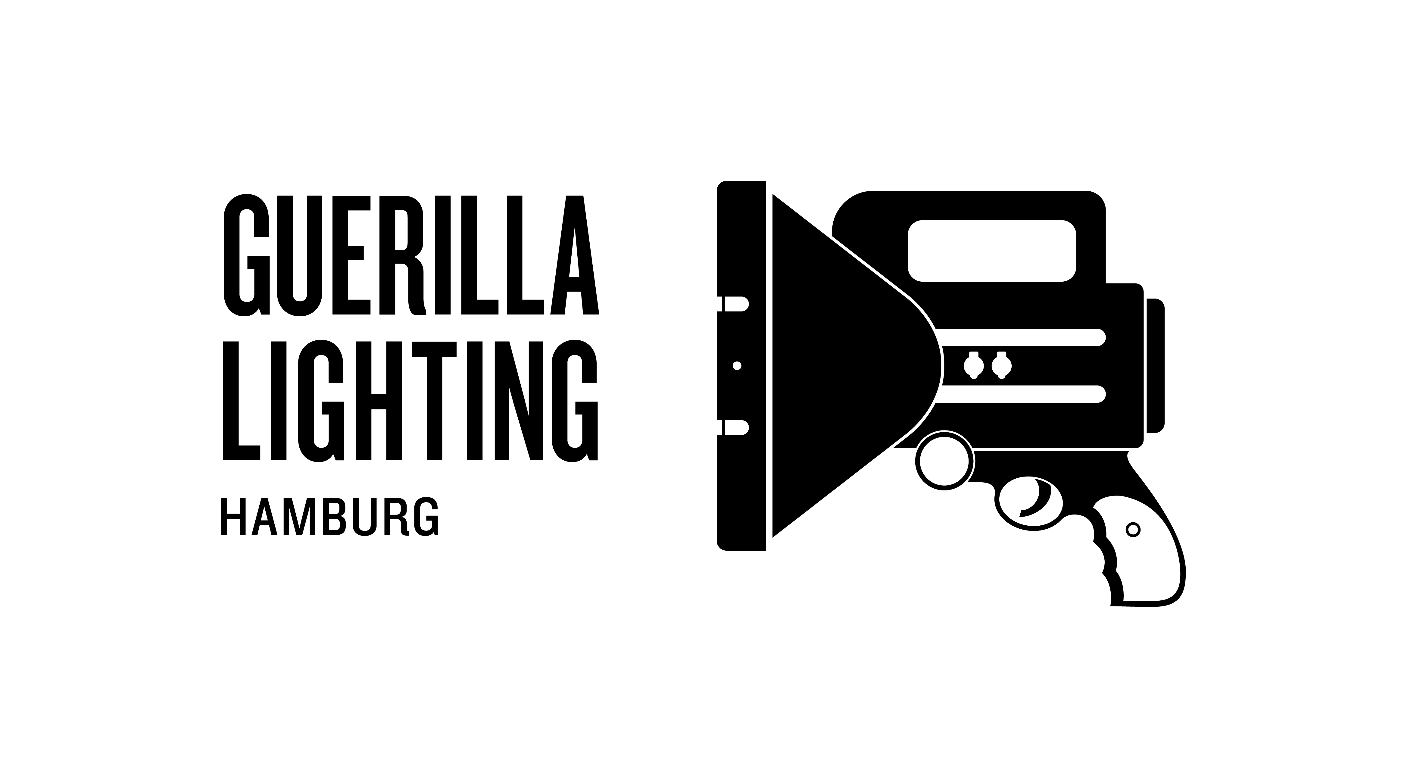 ON Grafik, wibberenz' design, Guerilla Lighting, Hamburg, temporäre Beleuchtung eines städtischen Gebäudes, öffentlicher Raum, Taschenlampe, Leuchten