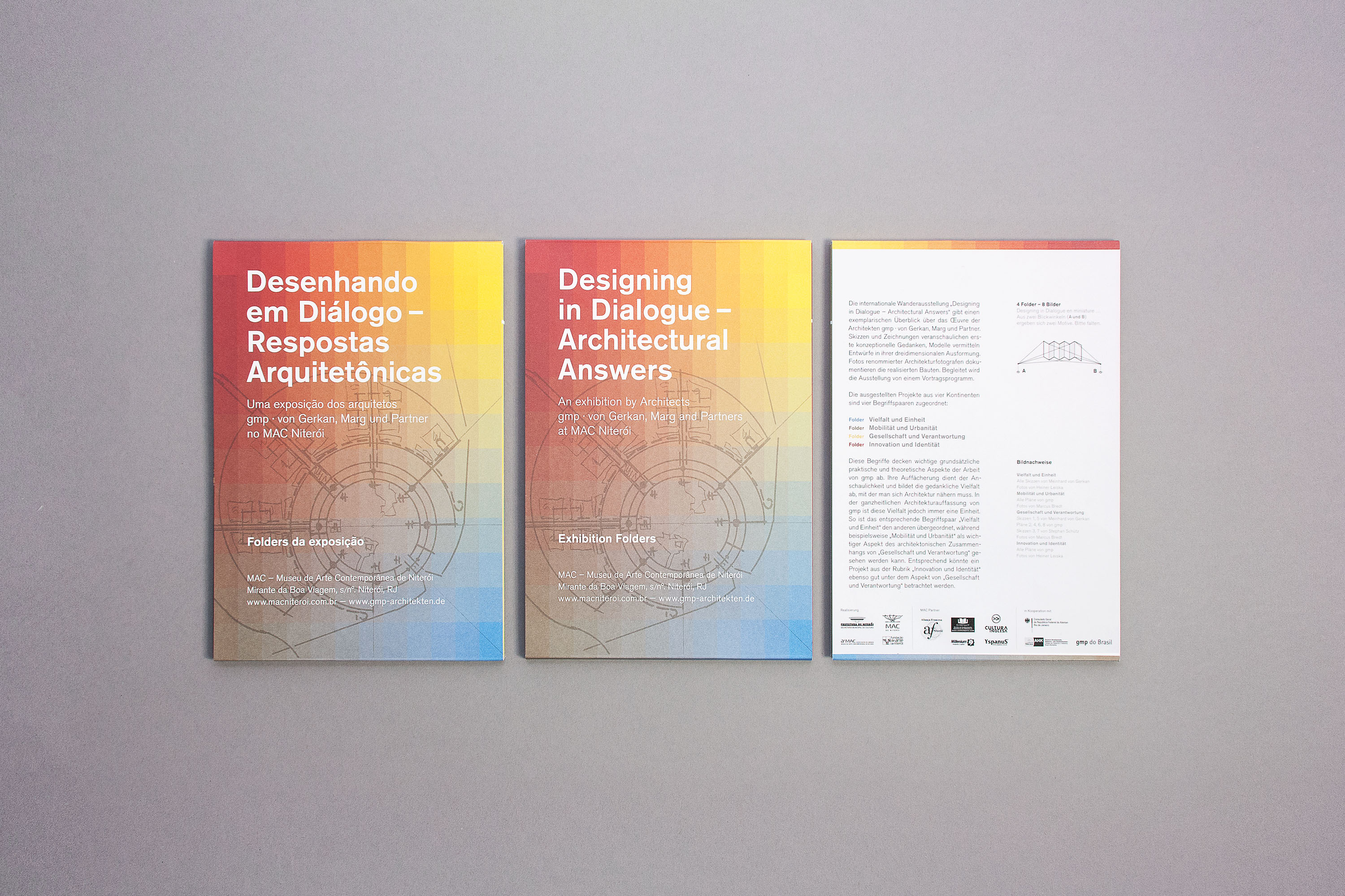 Rio de Janeiro, Designing in Dialogue, gmp, Architekten von Gerkan, Marg und Partner,Architectural Answers, Ausstellung, ON Grafik, wibberenz' design